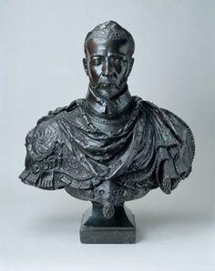 """The Wallace Collection -Bust of Charles IX of France par Germain Pilon.- Germain Pilon fit ses études à l'Université. En 1540, il est qualifié """"d'ecolier, étudiant à l'université de Paris"""". Pilon put ainsi acquérir des connaissances qui le distinguaient des """"imagiers"""" du Moyen age. On comprend que l'orfèvre Richard Toutain ait déclaré à son propos en 1573: """"et j'estime qu'il est l'ung des plus scavans hommes de ce royaume en cest estat""""."""