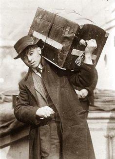 (via Emigrant, boarding ship)