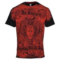 Buy Buddha Printed T Shirts online    Men's T shirt online   10% Off   Shop now @ www.huetrap.com