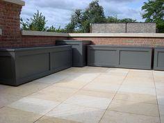 custom, planters, containers, pedestal, pavers, roof deck, urban, garden, landscape, design