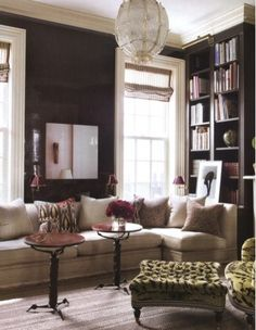 Luxuriate in the Living Room.