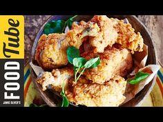 Jamie Oliver - rántott csirke: Ha van egy kicsit több időtök elkészíteni ezt a rántott csirkét, akkor tegyétek meg, mert felejthetetlen ízélményben lesz részetek. A csirke nagyon omlós és a bundája roppant ropogós lesz