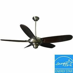 Hampton Bay Altura 56 in. Brushed Nickel Ceiling Fan