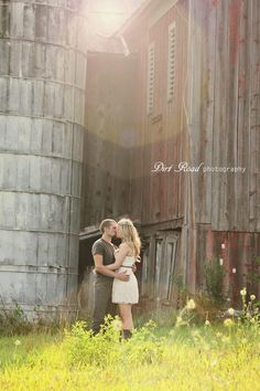Dirt Road Photography - Rustic Engagement photos @Christy Polek Stroup