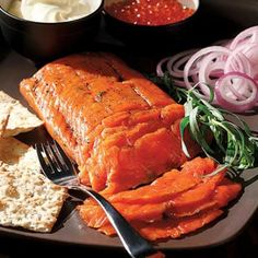 Because no #brunch is compete without a delicious lox. New World Gravlax Recipe | aol.it/1byje5l