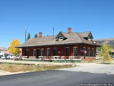 Train Station Leadville, Colorado.