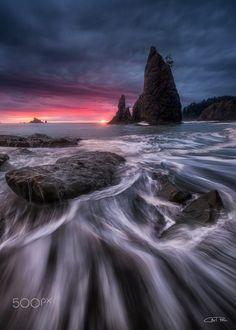 Splendour (Rialto Beach, Washington) by Carl Pan on 500px