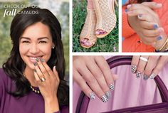 Jamberry nail wraps! Check out the fall/winter catalog! Something for every personality!