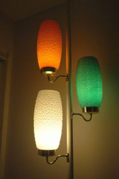 Atomic pole lamp. another one similar to mine.