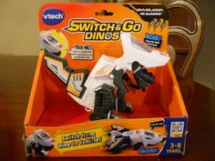V-Tech Switch & Go Dinos Skyslicer Allosaurus Review & Giveaway