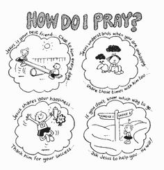 how do i pray coloring page