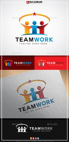 TeamWork Logo: Humans Logo Design Template by maximumdesignstudio. Sell Textbooks Online, Used Textbooks, Logo Design Template, Logo Templates, Teamwork Logo, Logo Branding, Branding Design, Banks Logo, Logo Face