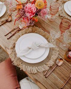 Boho Wedding, Wedding Table, Dream Wedding, Wedding Decorations, Table Decorations, Table Set Up, Event Decor, Event Design, Wedding Designs