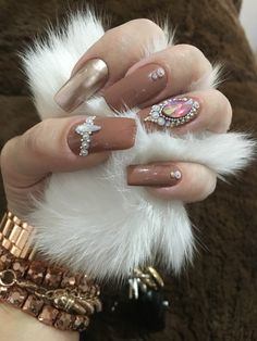 Mani Pedi, Manicure, Nail Art Designs, Nail Design, Perfect 10, Nail Inspo, Make Up, Milena, Nail Polish