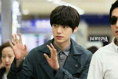 Ahn Jae Hyun @ Shanghai Airport