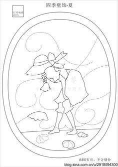 [转载]四季苏姑娘壁饰图纸_细浪摇歌_细浪摇歌_新浪博客,细浪摇歌,原文地址:四季苏姑娘壁饰 图纸作者:影子黎黎从韩网上看到的原图,觉得非常漂亮,试着画了图。 有喜欢的可以拿去,请勿...