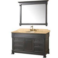 Photo Album Website  Andover Black Bathroom Vanity BathroomRemodel BlondyBathHome BathroomVanity TraditionalVanity