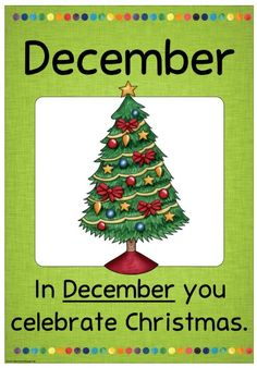 Neue Monatsplakate Die Monatsplakate für Dezember/December sind fertig. Die Datei enthält dieses Mal gleich beide Versionen, also die deu...