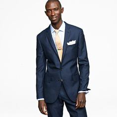 The Men's Suit Shop at J.Crew features stylish men's suiting from Ludlow and Aldridge. Find suit jackets and blazers, suit pants and vests in Italian wool, cashmere, wool flannel and Italian chino. Groomsmen Suits, Mens Suits, Teal Suit, Navy Suits, Summer Wedding Suits, Cashmere Suit, J Crew Ludlow, Business Attire For Men, Light Blue Shirts