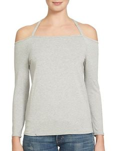 1 State Off the Shoulder Long Sleeve Party Top Women's Swan Heather La