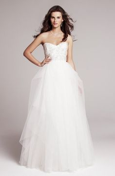 Nordstrom Wedding Suite Wedding Dresses Photos on WeddingWire - love this, IVY - SC