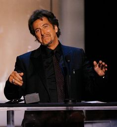 Actor Al Pacino accepts the AFI Life Achievement Award onstage during the 35th AFI Life Achievement Award tribute to Al Pacino held at the Kodak Theatre on June 7, 2007 in Hollywood, California.