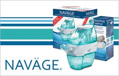 Naväge – the world's only nasal irrigator with gentle powered suction!  Unlike neti pots and squeeze bottles that push saline through the nose, Naväge gently pulls providing fast, natural, drug-free sinus relief!  Safe and effective, fast and convenient, Naväge is the biggest breakthrough in nasal hygiene since the neti pot. Sinus Relief, Drug Free, Irrigation, Drugs, Health Tips, Pots, Bottles, Personal Care, Natural
