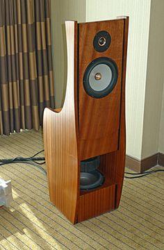 Linkwitzlab Orion with dipole bass. All elements from Seas, Norway. One power amplifier per speaker. Design Siegfried Linkwitz. The best loudspeaker money can buy?