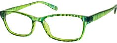 Women's Green 1227 Plastic Full-Rim Frame | Zenni Optical Glasses-t1PKM8XX