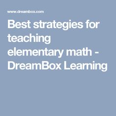 41 Best dreambox images in 2019 | 2nd grades, Classroom ideas