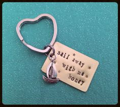 Hey, I found this really awesome Etsy listing at https://www.etsy.com/listing/152459279/custom-hand-stamped-keychain