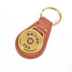 This beautiful Gold Plated Cartridge Head Stamp Keyring is stylish and unique, making it the perfect gift for any countryside enthusiast. Plating, Stamp, Personalized Items, Stylish, Gold, Gifts, Presents, Stamps, Favors