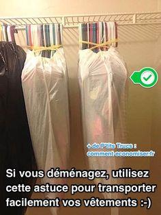 Si Vous Déménagez, Utilisez Cette Astuce Géniale Pour Transporter Facilement Tous Vos Vêtements.