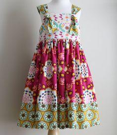 Bijoux by Bari J. Fabric KNOT dress/ BERRY BRITTNEY knot dress/ fall dress/ by addisonava