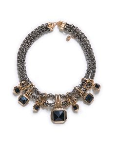 Chain and gems from Zara