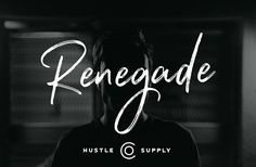 Renegade - Hand Painted Signature by Hustle Supply Co. on @creativemarket