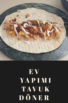 Ev yapımı tavuk döner Tacos, Mexican, Ethnic Recipes, Food, Essen, Meals, Yemek, Mexicans, Eten