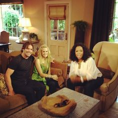 Oprah hung out at Carrie Underwood and Mike Fisher's house