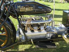 vintage Motorcycle engines | Militaire Motorcycle Engine - 1916 | Flickr - Photo Sharing!