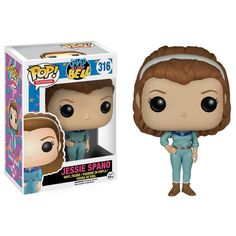 This is the Saved By The Bell Jessie Spano POP Vinyl Figure that's produced by Funko. Jessie Spano looks fantastic and makes for a definitely unique POP Vinyl! It's great to see the characters of the
