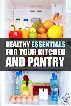 Eight healthy essentials to keep in your fridge at all times.