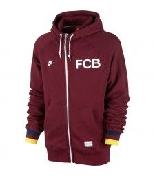 Keep warm in this casual Nike FCB COVERT FZ HOODY (TEAM RED) bb874fa84d8