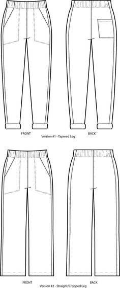 Buy the Free Range Slacks sewing pattern from Sew House Seven. You will feel free to roam in the comfort of these stylish, elastic high waisted trousers. Sewing Blogs, Sewing Patterns Free, Free Sewing, Shirt Patterns, Clothes Patterns, Sewing Tips, Dress Patterns, Sewing Ideas, Pattern Sewing