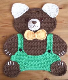 Crochet Tutorials – Olli das S Crochet Teddy, Crochet Baby, Crochet Applique Patterns Free, Big Knit Blanket, Jumbo Yarn, Crochet Potholders, Dishcloth Crochet, Knit Pillow, Knitted Bags