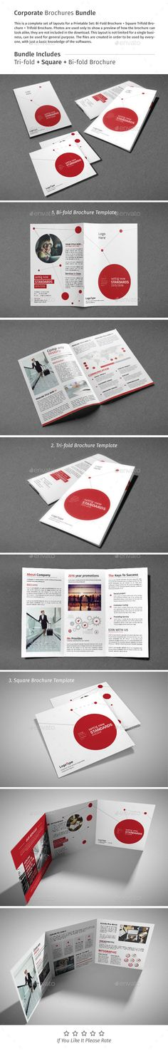 Brochure Bundle 05 • Available here → http://graphicriver.net/item/brochure-bundle-05/15437581?s_rank=201&ref=pxcr