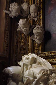 """tierradentro:  Detail from Bernini's """"Beata Ludovica Albertoni"""". (via)"""