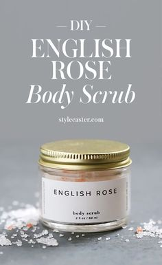 Your New Winter-Skin Savior: This DIY English Rose Body Scrub
