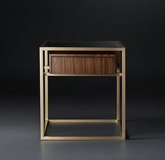 Kennan Tables & Trunks Collection-Walnut (MODCASE15) | RH Modern