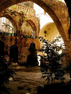 Courtyard in Nazareth