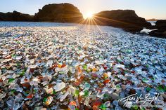 The Most Famous Sea Glass Beaches in the United States
